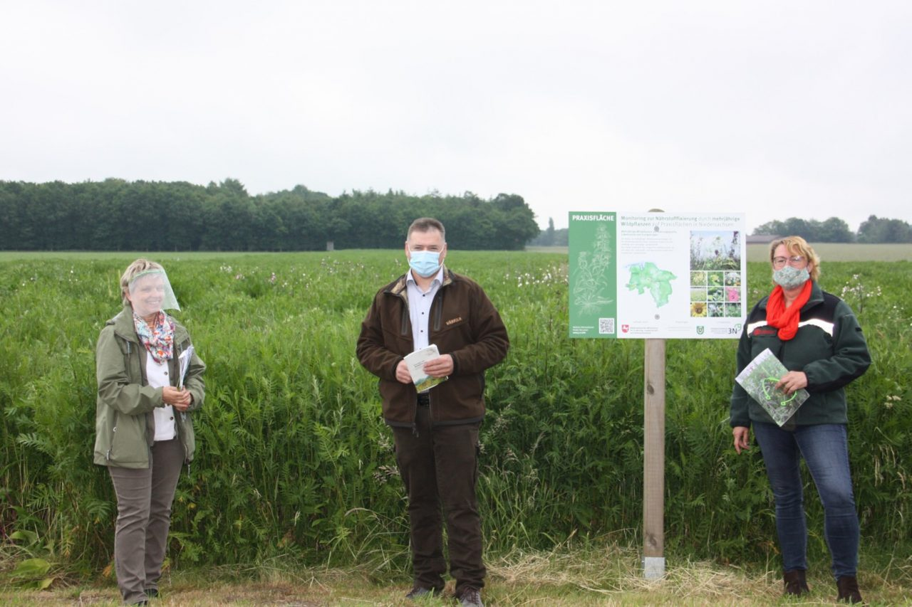 Ministerin Otte Kinast lobt Wildpflanzen-Projekt
