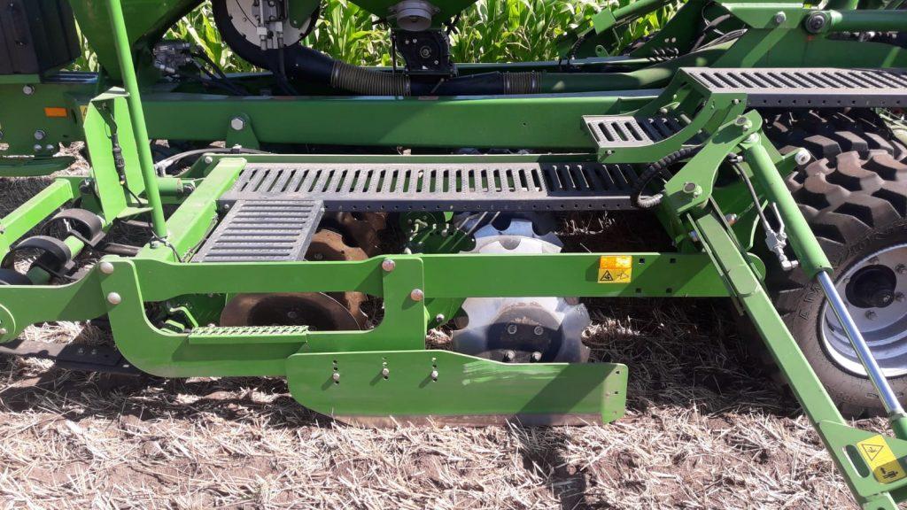 Saattechnik Bunte Biomasse