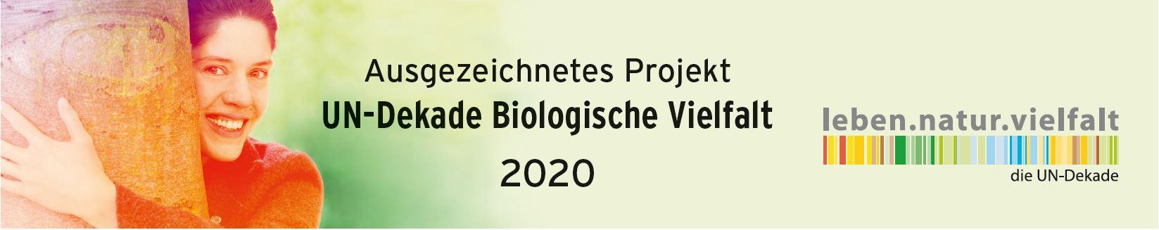 UN Dekade Biologische Vielfalt Logo